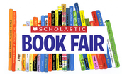 The Fall Scholastic Book Fair is coming up - September 30 to October 6