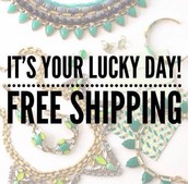 Hello free shipping!