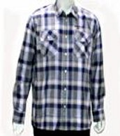 BROAD CHECK FULL SLEEVE SHIRT