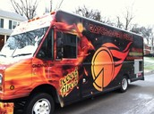our truck sells the best pizza and burritos ever