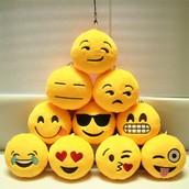Emoji knuffels