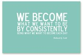 CONSISTENCY IS THE KEY TO SUCCESS!