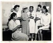 Harlem Hospital Nurses Residence in 1947.