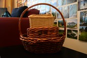Assorted baskets - 7 in total