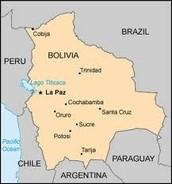 political map (bolivia)