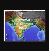 Physical features map by Andrew R