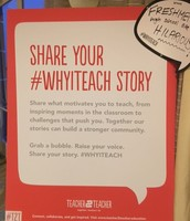 Share your #WhyITeach Story