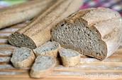 Pan de molde intergral