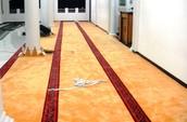Pemasangan Karpet
