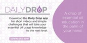 Daily Drop - App for Iphones and Androids