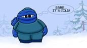 Je déteste le froid.
