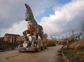 het paard van Troje in toverland