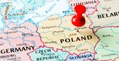 Polands map