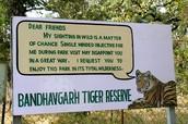 A reserve sign