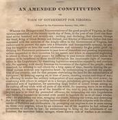 The Virginia Constitution