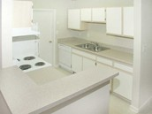 Large spacious updated kitchens