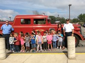 A Big Thank you to our Libertyville Fire fighters!