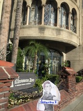 Artistic Photo of the Mission Inn