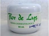Crema dermatologica flor de lys