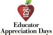 Barnes & Noble Educator Appreciation Week