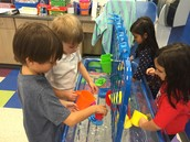 We opened our Water Table Center this Week!