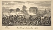 Battle of Lexington and Concord, 1775