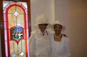 Sisters in Christ Lift Each Other in Prayer