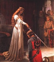 """Being Knighted"""