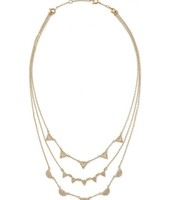 The pave chevron necklace