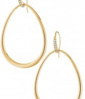 Goddess Teardrop Earrings - GOLD OR SILVER