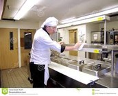 A Chef Keeping His Kitchen Clean