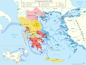 The Map Of The Peloponnesian War