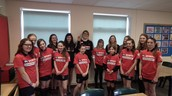 Olympic Medallist, Cassie Patten visits CFGS