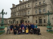 Middle grades visit the Newport Mansions