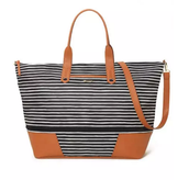Getaway Black/Cream Stripe $138