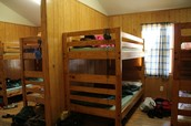 Camp cabin's