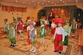 Осенний праздник в детском саду