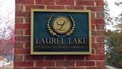LAUREL LAKE TAKING SHAPE