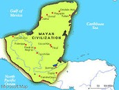 Where the Mayans lived