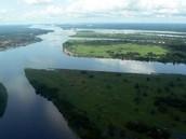La Riviere tres populaire au Congo