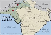 Indus River Valley Map