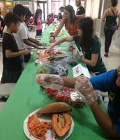 2nd Grade Plant Feast!!