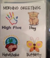 A Morning Greeting Poster