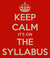 Syllabus and Frequently Asked Questions