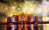 Islams holiday fire works
