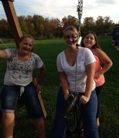 Me, Meg, and Liv