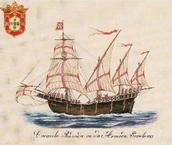 Sketch of Portuguese Caravel