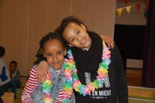 Two girls from our childrens group