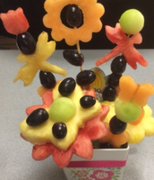 Kids in the Kitchen: Edible Spring Fruit Baskets