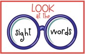 Sight words for the 3rd 9 weeks